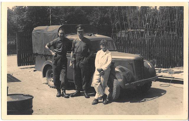 1945 bei den Briten