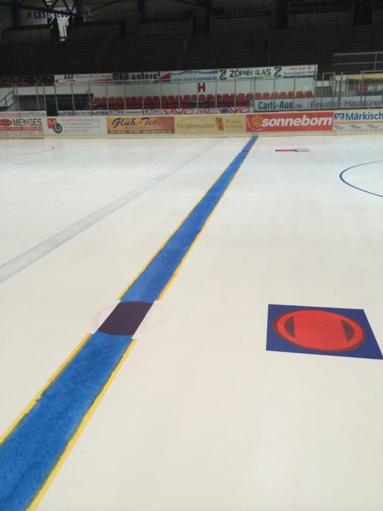 Neue Blaue Linien in Iserlohn