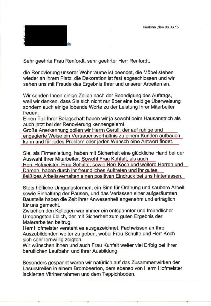 Attractive Wie Man Einen Mitarbeiter Referenz Brief Schreiben Photo ...
