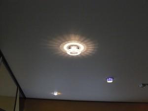 Swarovski Lampe mit Rückreflektion
