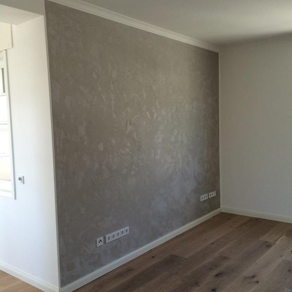 Eine sch ne betonoptik in einem noch sch nerem wohnzimmer renfordt malerfachbetrieb gmbh - Wohnzimmer betonoptik ...