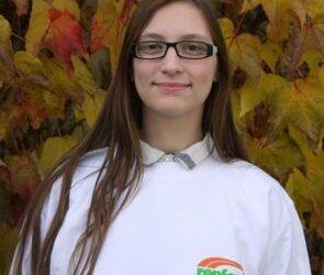 Unsere Ausbildungsbotschafterin: Alina Huckschlag